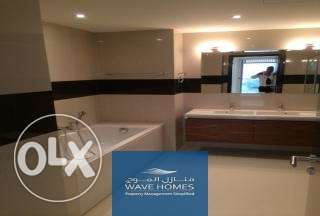 fully furnished 2BR apartment sits on the third floor of Siraj block
