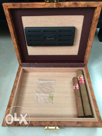 Limited Edition Gentili Cigar Travel Humidor for 10 Cigars
