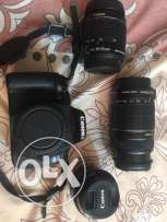 CANON 600D with 3 lenses for IMMEDIATE sale