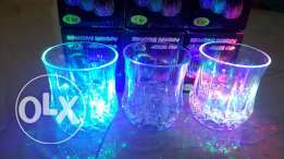 rainbow colour changing glass