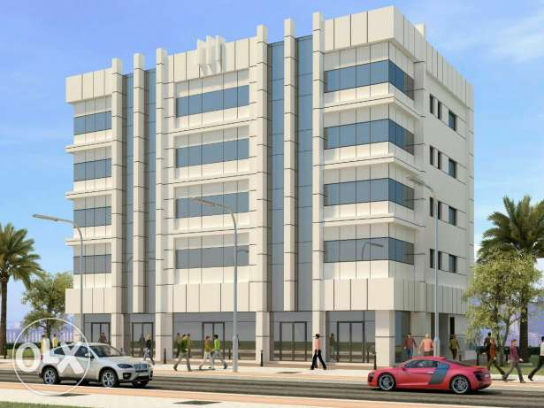 For Rent flats & shops & offices 250 + 300 + 400