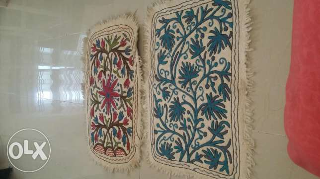 Original Kashmiri designer door mats made from yak fur
