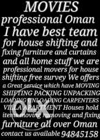 I have best team for house shifting