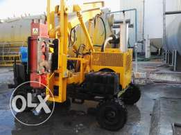 Guard Rail Pile Driver Machine