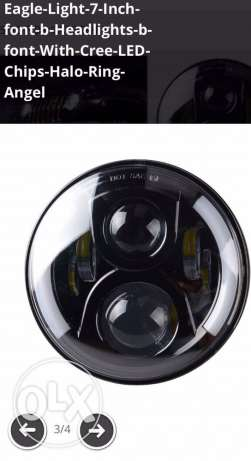 LED Headlights for Jeep 2009-15 Models