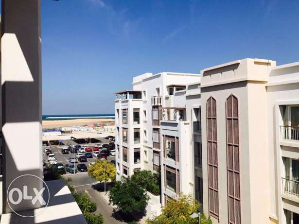 Muscat Wave (AL MOUJ) 1BHK Appartment For Rent +Equipped Kitchen