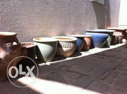 Planting Pots, various sizes and colors