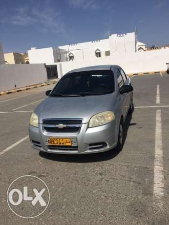 Immediate Sale of Chevrolet Aveo (Expat Used)