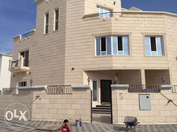 New villa for rent in al khod 7 3 bhk for 550 Ro