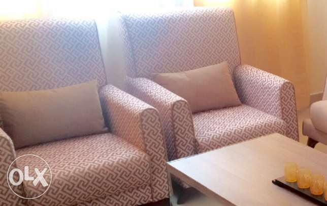 Less than a year old Sofa convertible bed set for sale مسقط -  3