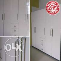 5 Door Elite Gloss Finish Wardrobe