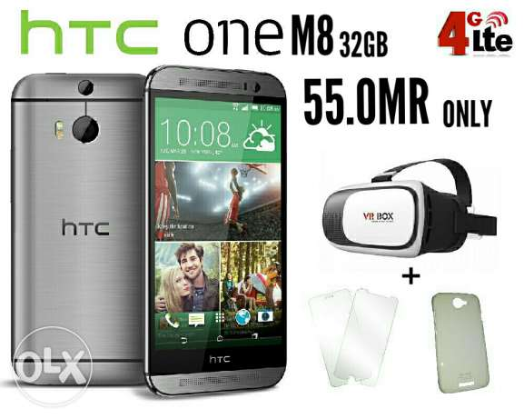 new htc m8 with warranty and free gift made in taiwan