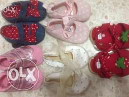 baby girl shoes(new born -6 months)