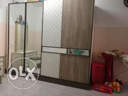 3 months old Home centre wardrobe for sale in 120 OMR.