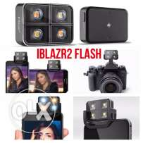 Wireless LED flash for smart phone