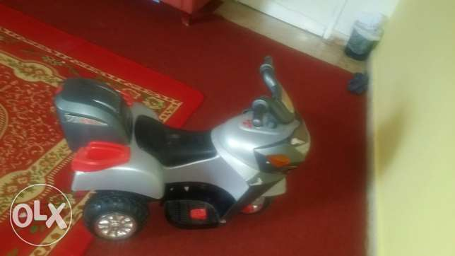 Battery chargeable bike.good and working condition.