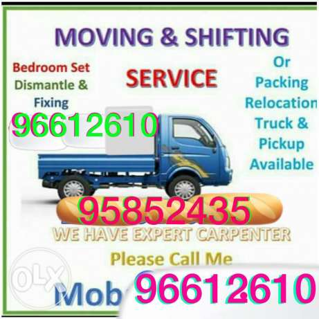 House shifting office shifting carpenter professional labour
