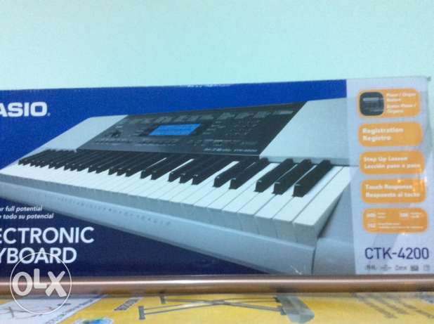 Casio Musical Electronic Keyboard with Stand مسقط -  2