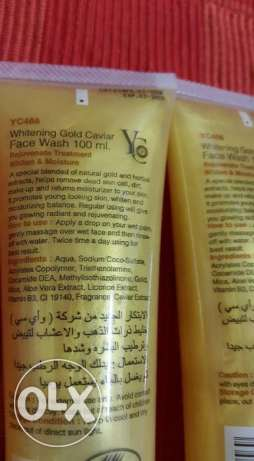 yc gold whitening face wash مسقط -  2