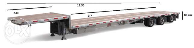 Brand new low deck trailers for sale