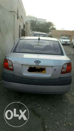 Kia rio 2009 automatic 1.4 clean price 1400 الرستاق -  2