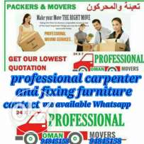 FIXING furniture and moving in all over Oman