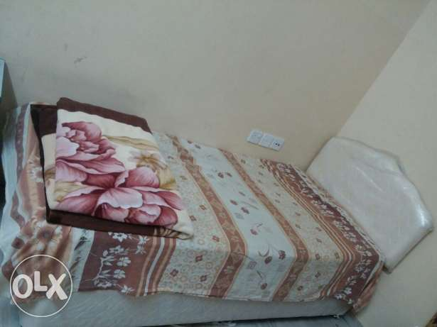 Two Single beds with Mattresses(each15)