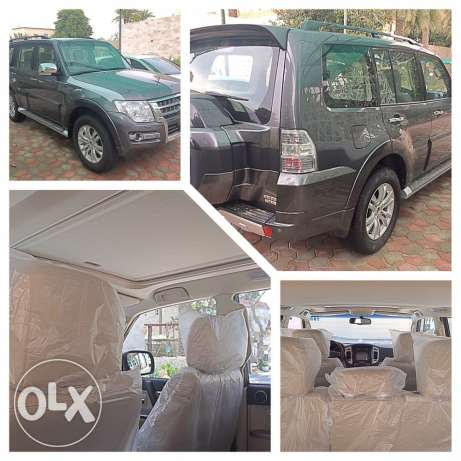 Mitsubishi Pajero 2016 3.8 new sale Gray is less than the market