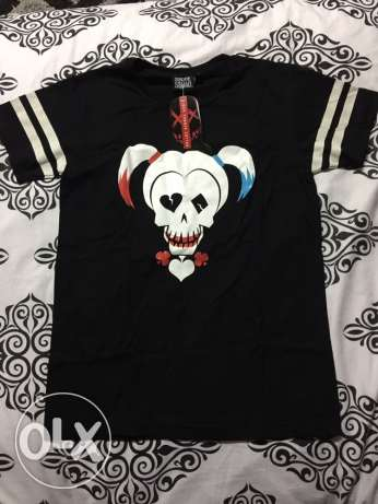 Brand New with Tag Suicide Squad Harlequin shirt - Small