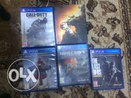 Top PS4 games for sale!!