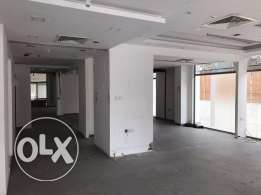 Showroom for rent in Al Ghubrah Nr.al khaleel 300 SQM