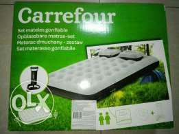 Air bed double bed size box packed, un used urgent sale