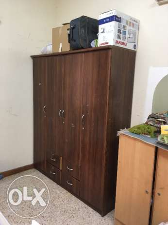 Wooden 4 door Wardrobe مسقط -  5