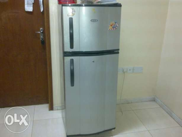 Refrigerator 270L capacity double door General company for urgent