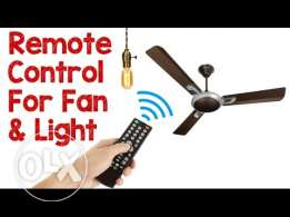 Remote Control Switch For Lights And Fan