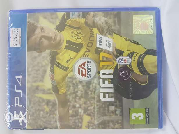Fifa17 game for sale عبري -  1