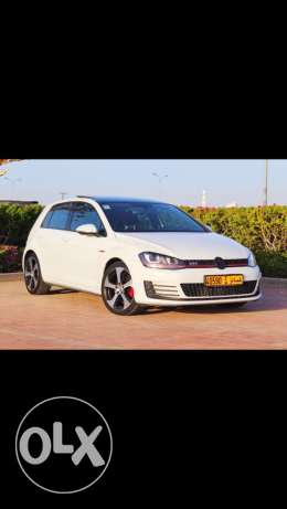 Golf GTI 2014 under warranty to 2020 special offer for 5 days is 7000