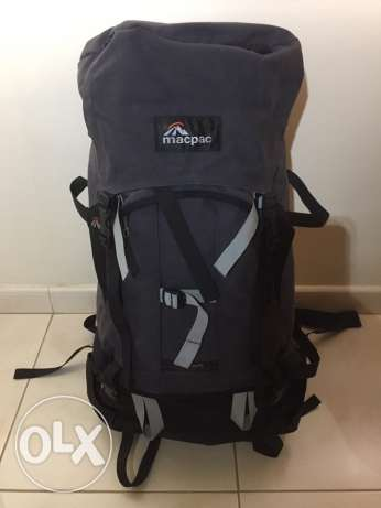 Ultra-Professional Expedition Backpack, Macpac, as-new condition