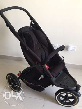 Stroller double Phil&Ted مسقط -  3