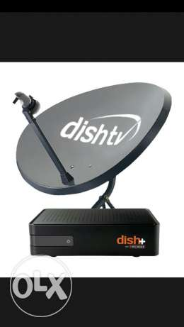 Dishtv recharging and maintenance available
