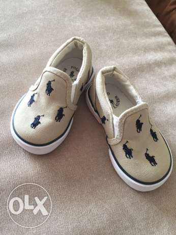 polo Ralph Lauren baby shoes size 19 from Usa. urgent sale