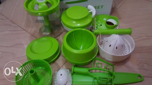 monolove manual food processor-12 pieces set- SPECIAL OFFER
