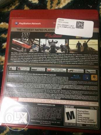 Grand Theft Auto 4 for PS3 السيب -  2