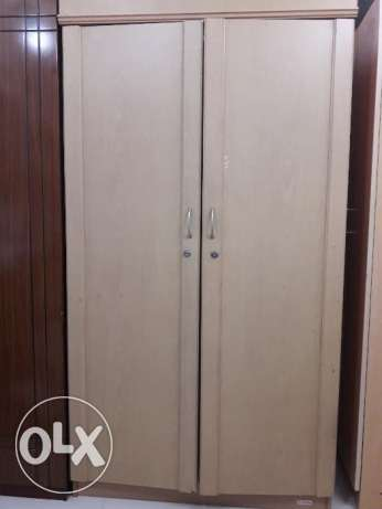 2 door cupboard in good condition for sale .