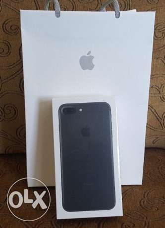 Apple iPhone 7 in box.