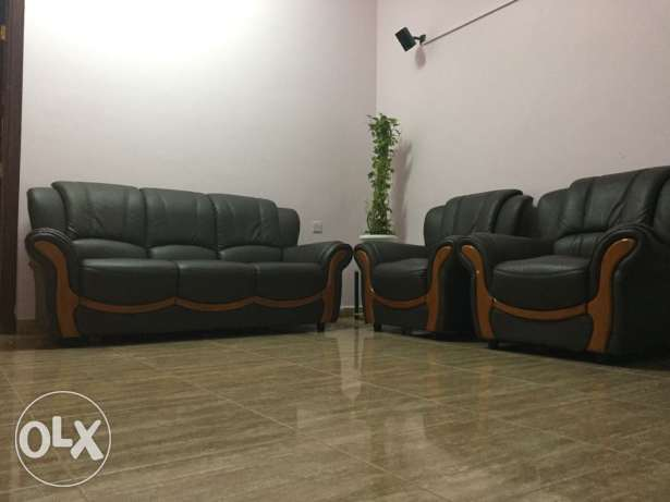 Three + One + One Sofa set for urgent Sale