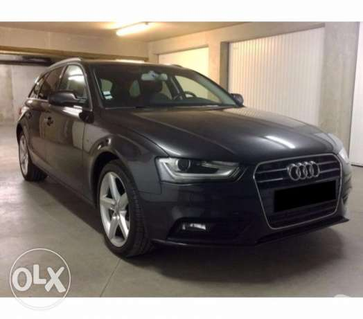 Audi A4 front ambition luxury 2.0l tdi 143 ch estate 6