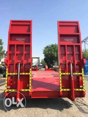 brand new lowbed trailers for sale for five year warranty