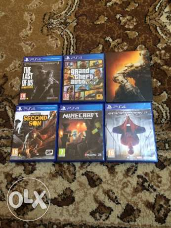 6 top PS5 games for sale! مسقط -  1