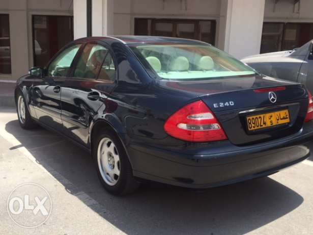 Benz E 240 well maintained